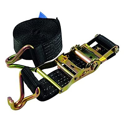 Omnitronic 60206791 SHZ Spanngurt H800 Ratsche Spitzhaken schwarz