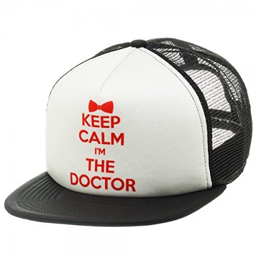Doctor Who Keep Calm I'm the Doctor Snapback Trucker Hat