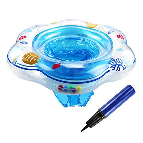 TedGem Baby Schwimmring, Aufblasbare Baby Pool Schwimmen Float mit Sitz Ideal für Kinder Planschbecken, Baby Schwimmring Float Passt für Infant Kleinkind Training