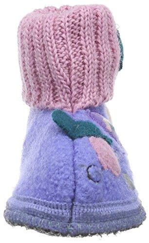 Haflinger Balloon, Chaussons mixte enfant Violet - Violett (Aquamarin 88)