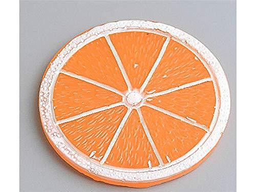 FERFERFERWON Ornament Handwerk Obst Form Gummibänder Dekoration Haarnadeln Ornamente für Handy-Fall (Orange) Micro DIY Zubehör (Farbe : Orange, Größe : 4.9x4.9cm) Orange Handy-fall