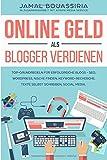 Online Geld als Blogger verdienen.: Top-Grundregeln für Erfolgreiche Shops- SEO