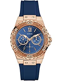 GUESS Analog Blue Dial Women's Watch - W1053L1