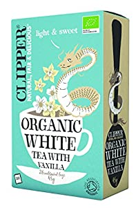 Clipper Organic White Tea with Vanilla, 26 Tea Bags