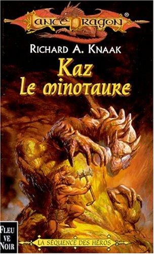 lancedragon n°35 - La sequence des heros : Kaz le minotaure