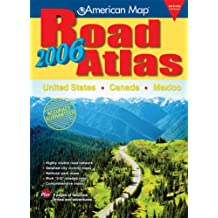 United States, Canada, Mexico Road Atlas 2006 (AMC Maps & Atlases)