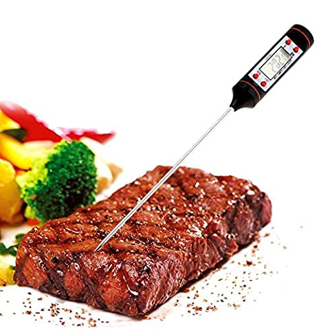 BlueBeach® Digital LCD Food Thermometer Cooking