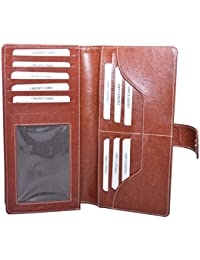 Knott Exclusive Br PU Leather Cheque Book Holder