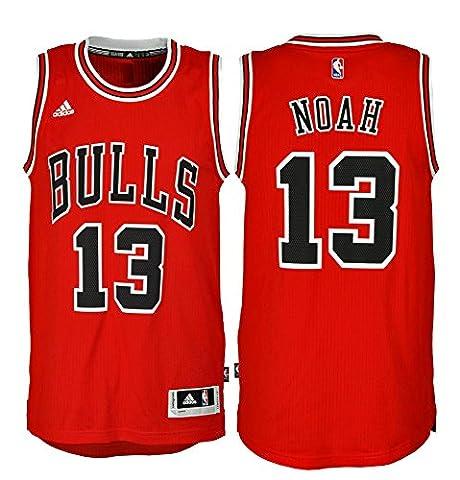 Adidas Men's T-shirt INT swingman, Chicago Bulls Noah - Black/