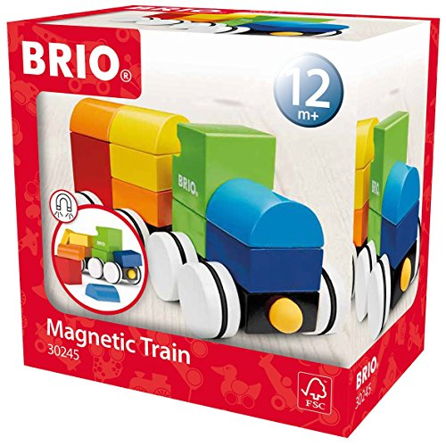 Brio - 30245 - Jeu de construction - train empilable magnetique