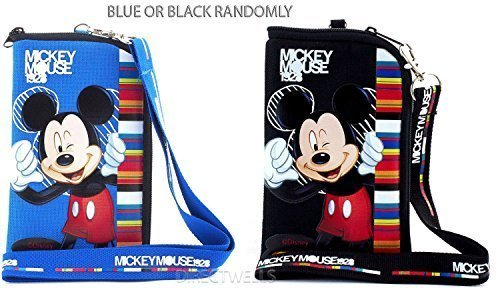 Disney Mickey Mouse Pouch and Lanyard (Random 1pcs) by Disney