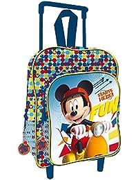 Sac à dos à roulettes Mickey 30 cm