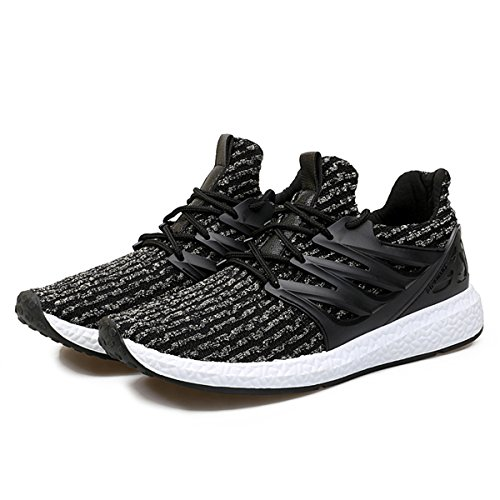 Baskets Mode Homme Femme, Gracosy Sports Léger Sneakers Basses Chaussures de course Running Ville Training Tennis - Multicolore - Taille 42 EU