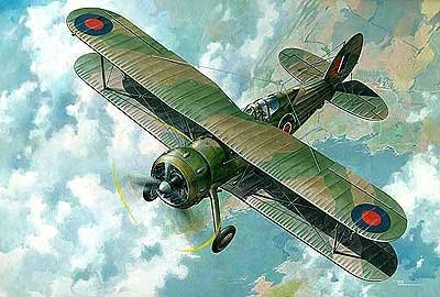 Gloster Gladiator MK1/MKII/J8 (Meteo Recce and foreign Service) Roden Model Kits 1/48
