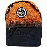 Hype Speckle Fade, Unisex Adults' Backpack, Multicolour (Orange/Black), 30x41x15 cm (W x H L)