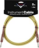 FENDER CABLE 1,5 M TWEED CUSTOM SHOP SERIES Accessoires guitare Cable Cable instrument