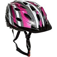 Sport Direct SH515 55-58cm Junior/ Ladies Helmet - Multicolour(Pink/Graphite/White)