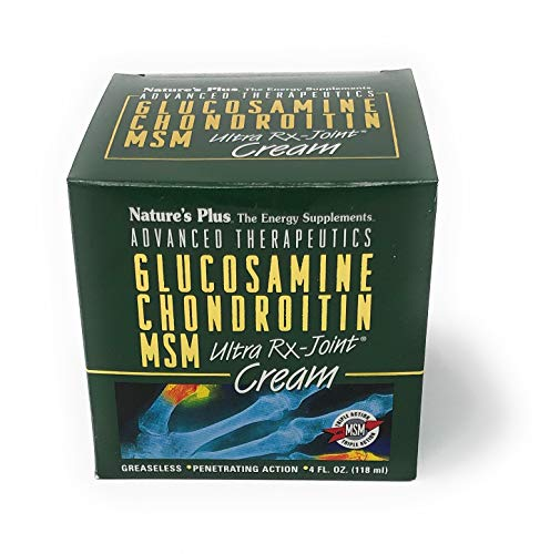 Nature's Plus Glucosamine/Chondroitin/MSM Ultra Rx-Joint® Creme in der Dose 118 ml Dose (118ml) -
