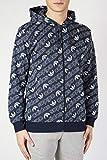 adidas Herren Monogram Full Zip Jacke, Collegiate Navy, L