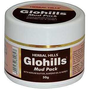 Herbal Hills Glohills Mud Pack, 50g