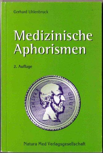 Medizinische Aphorismen