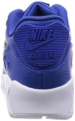 Nike Air Max 90 Ltr (Gs) Scarpe Sportive, Ragazzo Game Royal/Game Royal-White