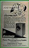 50er Jahre - Inserat / Anzeige: CONSTRUCTA WASCHMASCHINE / CHARMANT - Grösse : ca. 70 x 110 Millimeter - alte Werbung / Originalwerbung/ Printwerbung / Anzeigenwerbung / Advertisement