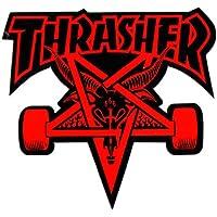 Thrasher Skategoat Die Cut Red Sticker