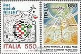 Italia 1998-1999 (completa) MNH 1986 Anno di Pace (Francobolli) - Prophila Collection - amazon.it