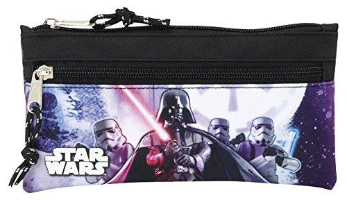 Star Wars- Estuche portatodo Dos Cremalleras (SAFTA 811701029)