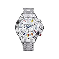 Original Nautica Nst Chrono Flag Watch A29513g de NAUTICA