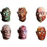 Sanromá - Careta con cabeza terror (surtido: 6 modelos aleatorios)