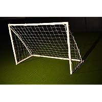 Fussballtor FUN 1,8 x 1,2m aus uPVC von POWERSHOT® Mit Klicksystem, Zubehör und 1 Jahr Garantie