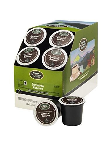Grün Berg Coffee K-Cup Teil, Für Keurig K-Cup Brewers, Sumatra Reserve (96 Stück, Garten, Rasen, Maintenance