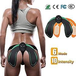 EMS Hips Electroestimulador Muscular,Gluteos Estimulador de Glúteos Herramientas Nalgas HipTrainer para la Cadera Mujer Inteligente Hip Instructor Modelling Firing Ayuda a Levantar la Cadera