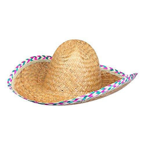 S o 4 unidades sombrero paja sombrero Mexico rafia sombrero sombrero de paja  Hawaii Party ff40dc04251