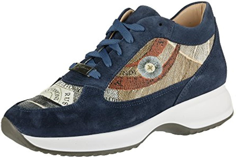 GATTINONI Zapatillas Mujer Azul Navy (38 EU)