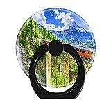 Lisert Universal Dehnbare Handybuchse Pop Grip Halter für Smartphone und Tablet Zermatt Schweiz