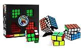 Coffret de 4 Magic Cubes 5x5x5 4x4x4 3x3x3 2x2x2 Edition Limitée Legend