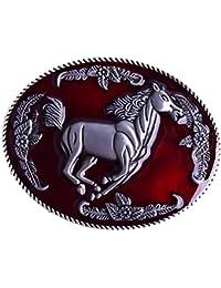 855a151c5067 F Fityle Boucle De Ceinture Western Rodeo Native American Antique Hommes  Accessoires 7 X 5.8cm