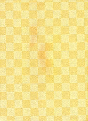 Rotoli Tovaglia Cerata 20 Metri Rotolo x 140 larghezza cm Quadrato giallo 5-6