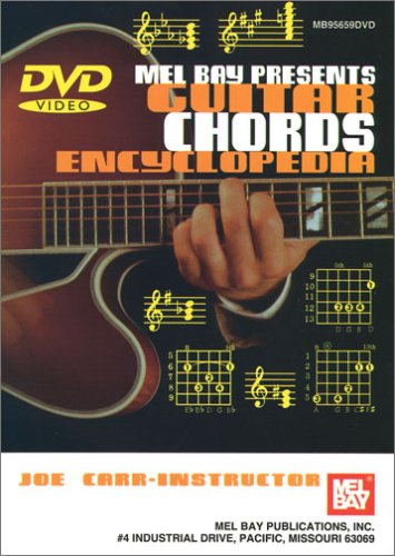 GUITAR CHORDS ENCYCLOPEDIA REINO UNIDO DVD