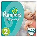 Pampers Baby-Dry Gr. 2,3-6kg, 42Windeln, 4er Pack (4 x 42 Stück), 1 Packung = 1 Impfdosis