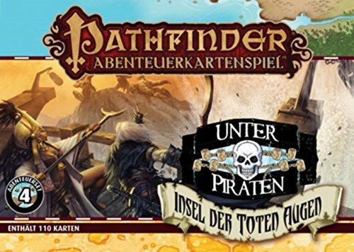 Pathfinder Abenteuerkartenspiel • Insel der Toten Augen/Unter Piraten Set 4 - Augen Unter Auge