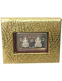 iJuels 999 Fine Silver BIS Hallmarked Rectangular 10gm Silver Coin/Bar. Gift Pack (10 Gram Silver Coin – 1 Piece)