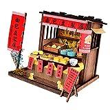 Baoblaze 1:24 Kreativraum Puppenahus Miniatur mit Möbel Zubehör Minipuppen Restaurant Teeservice Kaffeeservice - Bäckerei Shop