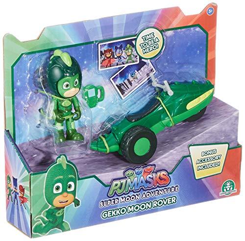 Giochi Preziosi Italy - Pj Masks Fahrzeug Moon Space Rover Gecko Mehrfarbig