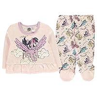 Character Wear My Little Pony 2 Piece Pyjama Set Baby Girls Pink Pajamas 3-6 Months