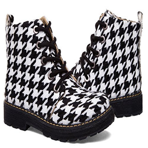Fsbnwpq Boots Femme Noir Bottes Martin Plateforme Jrenok Chaussure 0wZSUgqF