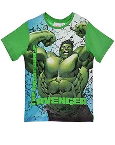erica Ironman Hulk Jungen-T-Shirt Top Alter 7-8 Jahre (Iron Man Kostüm Alter 8)